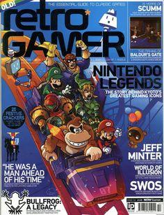 Retro Gamer Magazine Issue 110 Nintendo Legends Mario Donkey Kong Zelda Metroid