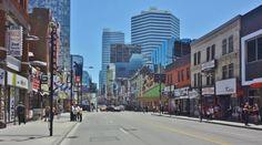 Downtown Toronto Yonge Street Yonge Street, Downtown Toronto, Street View