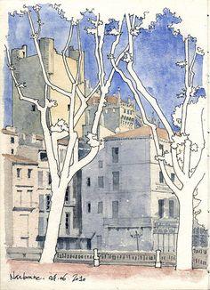 sketches urbanos