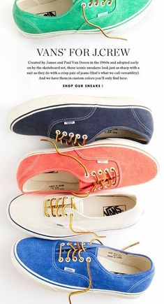 Want a pair in every color!
