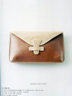DIY hand sewn leather purses - Yahoo Image Search results
