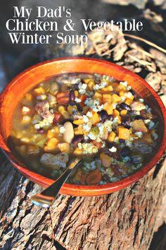 Chicken & Vegetable Winter Soup – Simply Taralynn