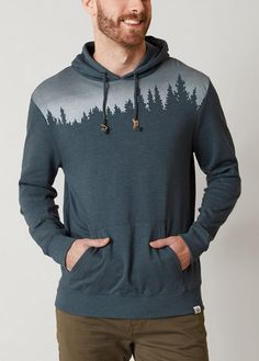 ThenTree Juniper Hooded Sweatshirt - Men's Clothing | Buckle