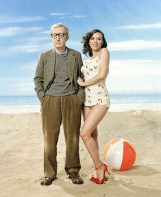 Scarlett Johansson & Woody Allen
