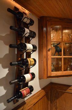 Wine Stave Wine rack. $85.00, via Etsy.