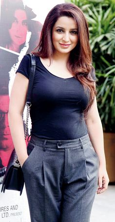 Tisca Chopra at a press conference of the film 'Rahasya'.