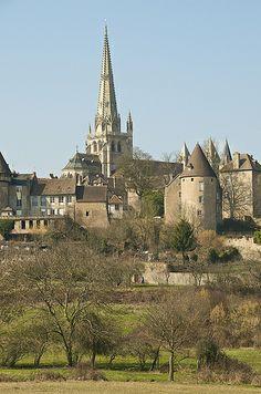 Autun, Burgundy, France