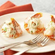 This simple hors d'oeuvre recipe takes a double dip in the sea. More summer party ideas: http://www.bhg.com/recipes/healthy/low-sodium/heart-healthy-low-sodium-recipes/#page=9 #myplate