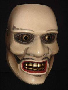 Noh | Noh mask Togo fierce god style
