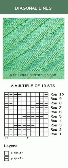 Diagonal Lines stitch. It is just knits and purls