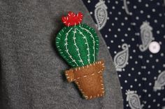 Hit the hottest trend in crafting right now, with this beautiful wearable cactus make by Love From Hetty and Dave designer, Zoe Larkins. Great as a gift or a quirky little present to yourself!