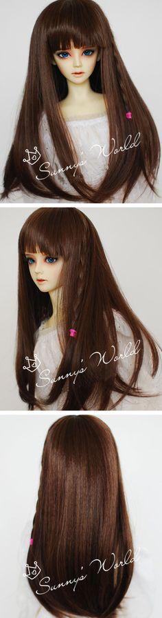 ドール用ウィッグ SDサイズ人形用  BW039 ブラウン色 Beauty, Legends, Beauty Illustration