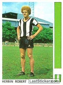 ROBERT HERBIN 1977-78 SAINT ETIENNE Saint Etienne, Trading Cards, Saints, Running, Sport, Childhood Memories, Deporte, Collector Cards, Keep Running