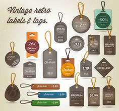 22 Free and Attractive Price,Sale,Discount Tag PSD Files