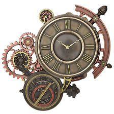 Steampunk Astrolabe Wall clock home decor                                                                                                                                                                                 More