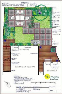 Pair of small 'L' shaped lawns add interest to a small back garden design.