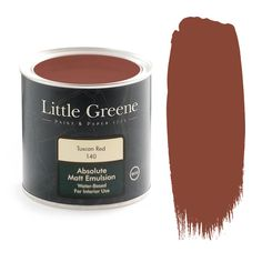 Bronze Red is a rich shade of red from Little Greene which adds a touch of grandeur to any room. Available from Go Wallpaper UK. Brick Effect Wallpaper, Luxury Wallpaper, Contemporary Wallpaper, Glitter Wallpaper, Tree Wallpaper, Little Greene Farbe, Little Greene Paint, Specialist Paint, Dining Room Paint