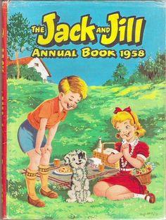 JACK AND JILL ANNUAL BOOK 1958 | eBay