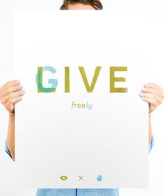 Live Freely Give Freely: http://helpink.org/products/live-free-give-freely