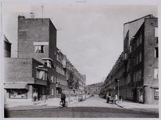 1940's. View on the Van Spilbergenstraat in Amsterdam. #amsterdam #1940 #VanSpilbergenstraat
