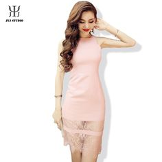 Aliexpress.com : Buy Pink Sexy Lace Dress Luxury Brand Women Dress Sleeveless Bodycon Ladies Office Dresses from Reliable dress up time prom dresses suppliers on JYJ STUDIO Cheap Dresses, Prom Dresses, Dress Skirt, Dress Up, Sexy Lace Dress, Jyj, Office Dresses, Long Sleeve Tunic, Luxury Branding