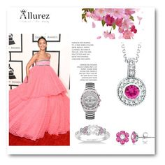 """Allurez"" by ajdin-lejla ❤ liked on Polyvore featuring Allurez, Morris & David and Caravelle by Bulova"