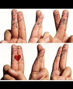 Was für ein kreativer #Liebesbeweis...  What a cute symbol of #love...