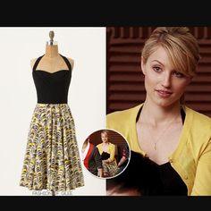 ec18177d5df6 Anthropologie Halter Swing Dress Preppy Girl, Preppy Style, John Fluevog  Shoes, Cool Outfits