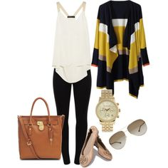 """NYC-Plane Trip"" by alyssemk on Polyvore"