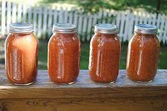 crock pot applesauce canning