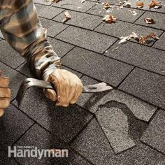 Remove those ugly damaged shingles and stop potential roof leaks by following this simple three-step shingle replacement process.