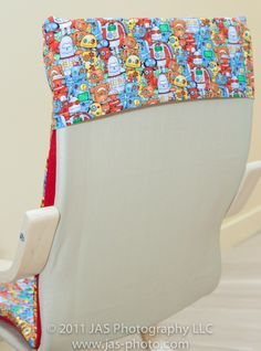 TUTORIAL: Kids Ikea Poang Slipcover « Haath Se [By Hand]