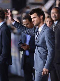 'Twilight: Breaking Dawn - Part 2' Premiere: Taylor Lautner