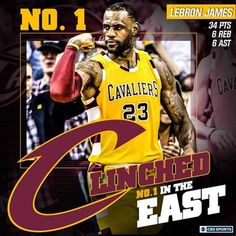 The road to the NBA Finals runs through CLEVELAND! Let's go, Cleveland Cavaliers! 4/11/2016