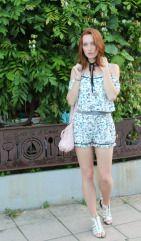 hottest trends summer 2016 choker off the shoulder france travel blogger fashion spring style flowers