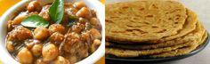 Chole e Parôtha - Um prato extremamente tradicional na India. #TrivialGourmet