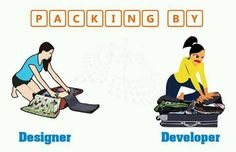 Major difference b/w web designer and developer... lol :)
