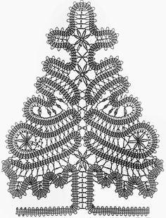 Красивая елка крючком в брюггском стиле.. Обсуждение на LiveInternet - Российский Сервис Онлайн-Дневников