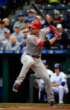 Joey Votto Photos: Cincinnati Reds v Kansas City Royals