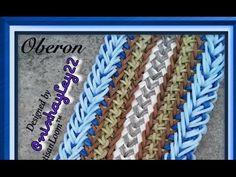 Rainbow Loom Band Oberon Bracelet Tutorial/How To - YouTube
