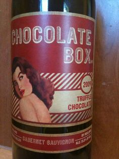Chocolate Box makes a great wine. Really enjoyed this 2009 Truffle Chocolate Cabernet Sauvignon