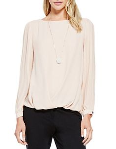 vince camuto  love this top. interesting