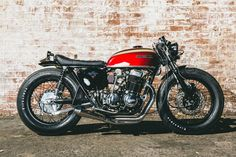 Drew's CB750 #hondabrat by Salty Speed Co. http://facebook.com/hondabrats