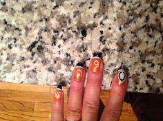 My Bears DIY nail art