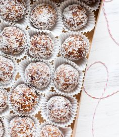 fruit and nut date balls, healthy and easy snack or dessert