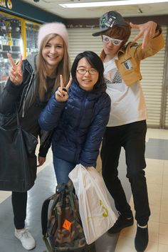 I met Sharla and Einshine today, who are awesome youtubers in Japan!! Saw them during my excursions for anime goodies and I was beyond happy.