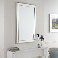 Buy John Lewis Marni Mirror Online at johnlewis.com 117x91cm Champagne Silver £200