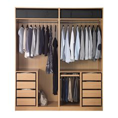Shop for Furniture, Home Accessories & Ikea Pax Closet, Ikea Pax Wardrobe, Bedroom Wardrobe, Wardrobe Closet, Built In Wardrobe, Bedroom Cupboard Designs, Bedroom Closet Design, Bedroom Cupboards, Wardrobe Design