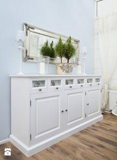 Ogród zimowy, biel, błękit - zdjęcie od HolArt Studio - Salon - Styl Prowansalski - HolArt Studio