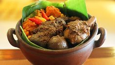 When you come to Yogyakarta, there spread lot of food. One of yogyakarta signature dish is Gudeg. Gudeg has the sweet flavor made from y. Dump Cake Recipes, Homemade Cake Recipes, Best Cake Recipes, My Best Recipe, Cake Recipe From Scratch Easy, Chocolate Cake Recipe Easy, Good Food, Yummy Food, Asian Recipes